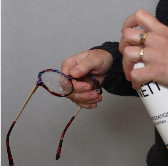 Entretien lunettes