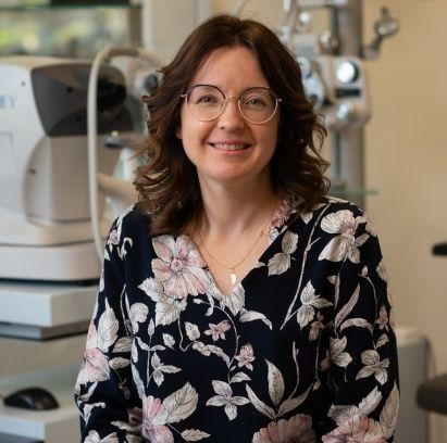 Maud : opticienne optométriste